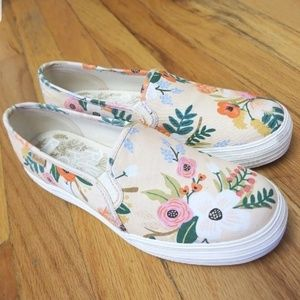 Keds x Paper Rifle Co. Slip-On Sneakers!